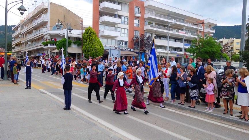Εορταστικές εκδηλώσεις στον Πολύγυρο για την Κήρυξη της Επανάστασης του 1821