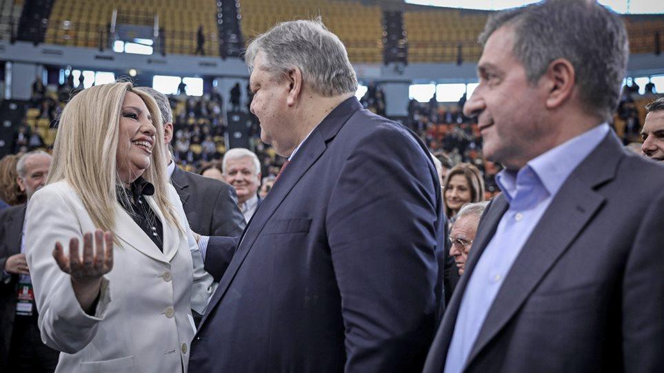 H Φώφη Γεννηματά ανακοίνωσε τον Καμίνη στο Επικρατείας. Εκτός μένει ο Βενιζέλος