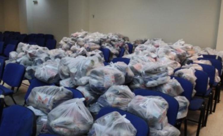 Συνεχίζεται η διανομή τροφίμων στο δήμο Σκύδρας