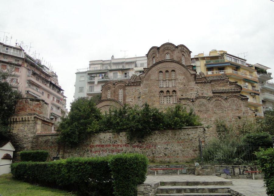 Διέρρηξαν τον Ιερό Ναό του Αγίου Παντελεήμονα στο κέντρο της Θεσσαλονίκης