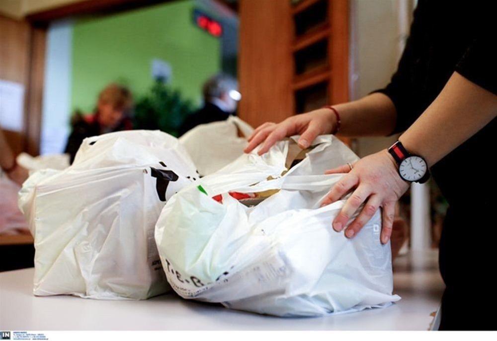 Διανομή τροφίμων στο Δήμο Αμπελοκήπων-Μενεμένης