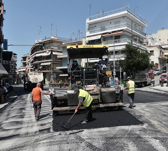 Δήμος Νεάπολης-Συκεών: Ολοκληρώνονται οι εργασίες ασφαλτόστρωσης