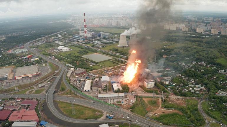 Ρωσία: 13 τραυματίες και 1 νεκρός από φωτιά σε θερμοηλεκτρικό σταθμό