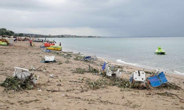 Ο έβδομος νεκρός από τη θεομηνία στη Χαλκιδική είναι ο ψαράς