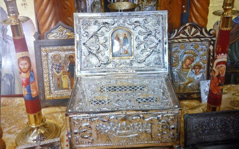 Ξυλόπολη Θεσσαλονίκης: Το ιερό λείψανο του Αγίου Ραφαήλ