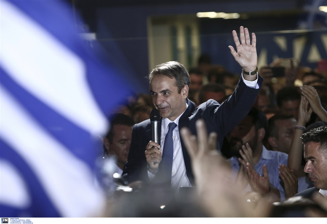 Κυρ. Μητσοτάκης: Δεν θα διαψεύσω τις ελπίδες σας – Θα είμαι πρωθυπουργός όλων των Ελλήνων