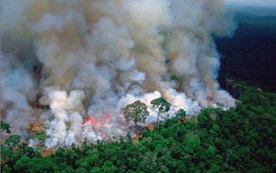 Καίγεται ο Αμαζόνιος: Στο σκοτάδι το Σάο Πάολο μέρα μεσημέρι από τους καπνούς