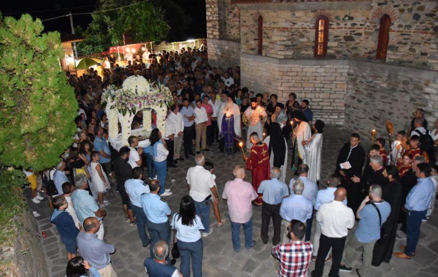 Χαλκιδική: Δεκαπενταύγουστος στο προσκύνημα της Μεγάλης Παναγίας