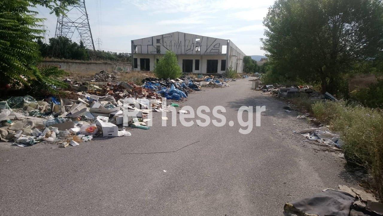 Ευκαρπία: Περιοχή μετατράπηκε σε απέραντη χωματερή ογκωδών υλικών