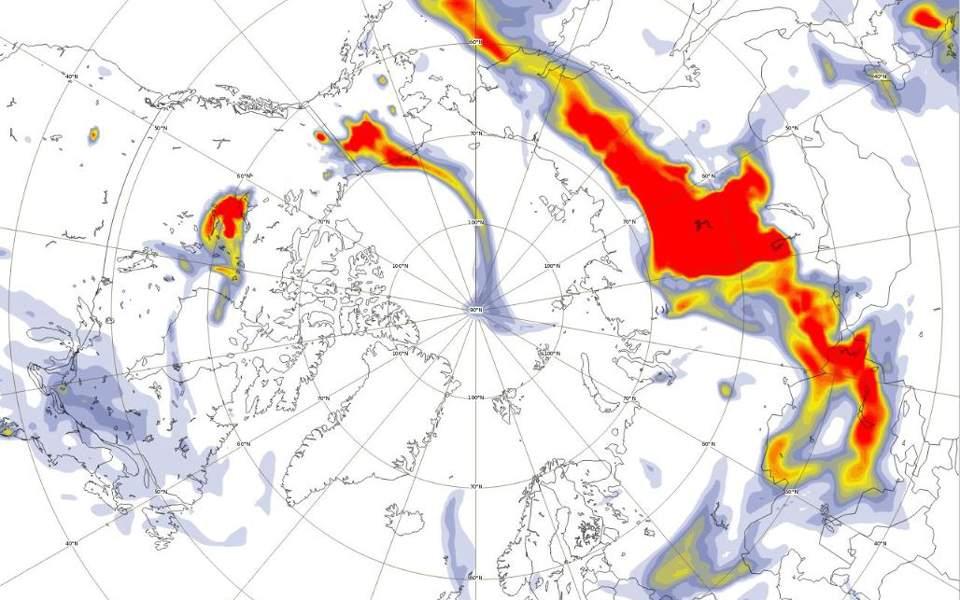 Ο Αρκτικός Κύκλος φλέγεται