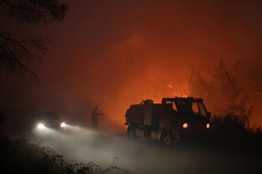 Υψηλός ο κίνδυνος για πυρκαγιές την Τετάρτη