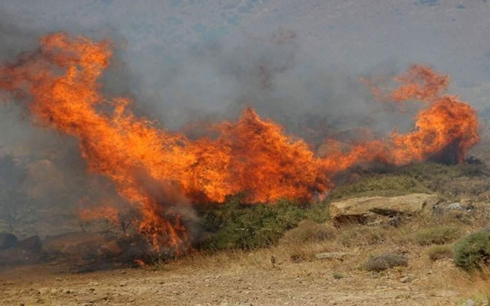 Αύριο Τετάρτη: Πολύ υψηλός ο κίνδυνος πυρκαγιάς σε έξι περιφέρειες