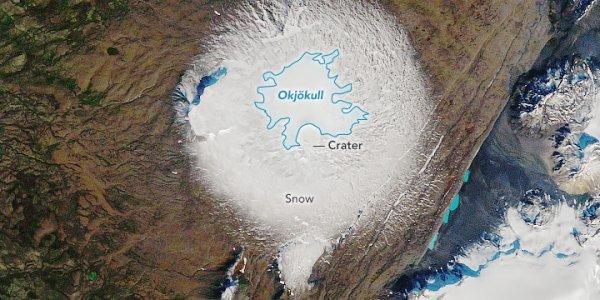Ισλανδία: Ο «θάνατος» του παγετώνα Όκιοκουλ προειδοποίηση για την ανθρωπότητα