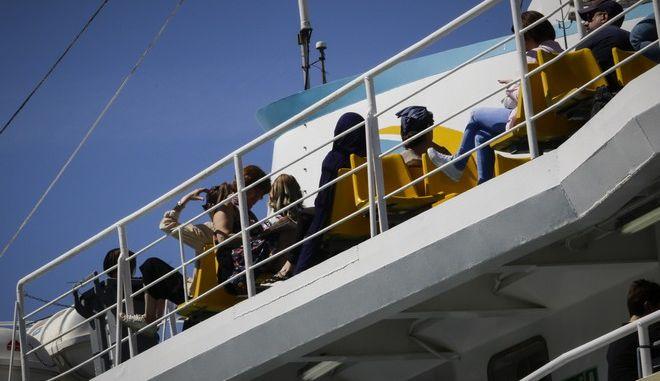 Αυξημένη κίνηση στα λιμάνια ενόψει Δεκαπενταύγουστου