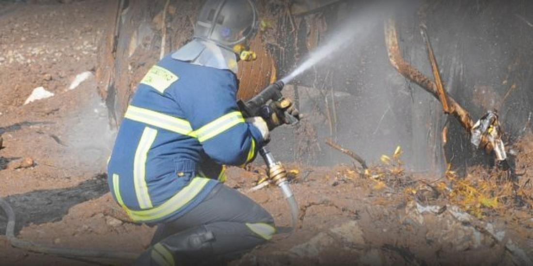 Φωτιά στη Σαμοθράκη στην περιοχή Καμαριώτισσα