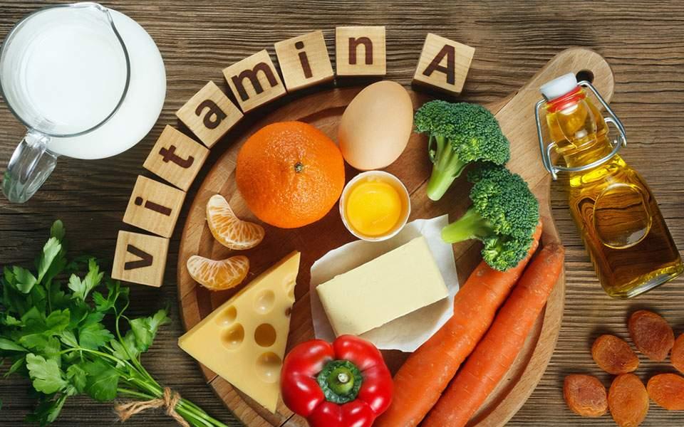 Yψηλότερη πρόσληψη βιταμίνης Α περιορίζει τον κίνδυνο καρκίνου του δέρματος