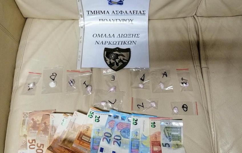 Συλλήψεις 4 ατόμων για ναρκωτικά στη Χαλκιδική