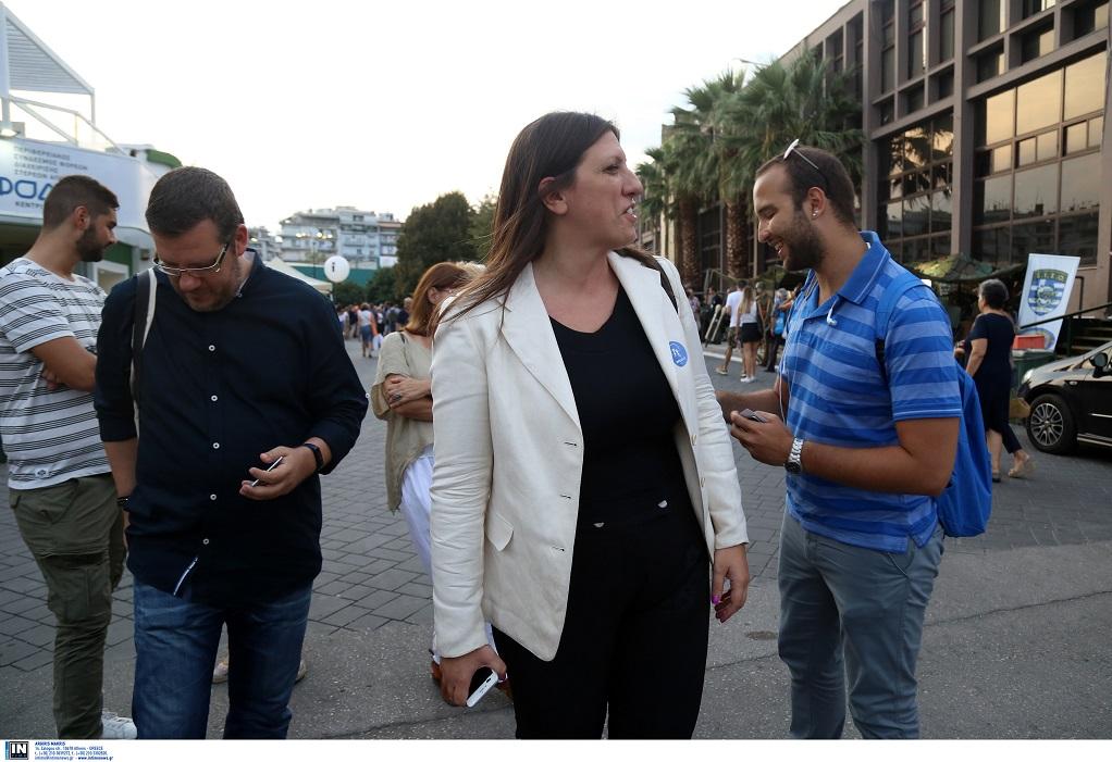 Ζ.Κωνσταντοπούλου: Εξεταστική για το 2015 ζήτησε από τη ΔΕΘ