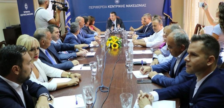 Α. Τζιτζικώστας: Ανακοίνωσε το σχήμα της νέας διοίκησης για Κ.Μακεδονία