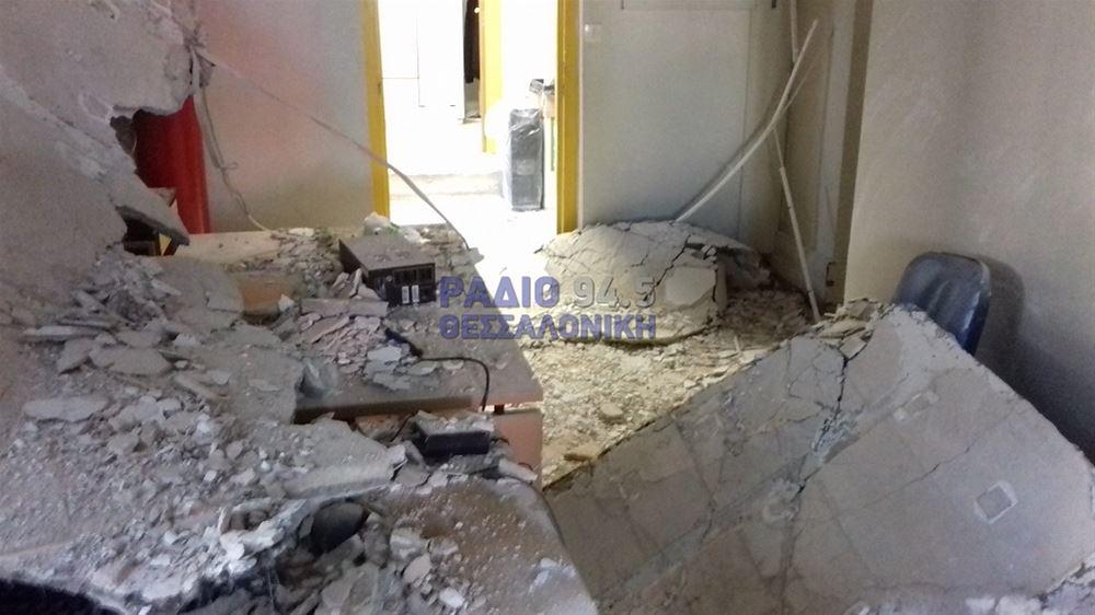 Κατέρρευσε το ταβάνι στο Ιπποκράτειο νοσοκομείο