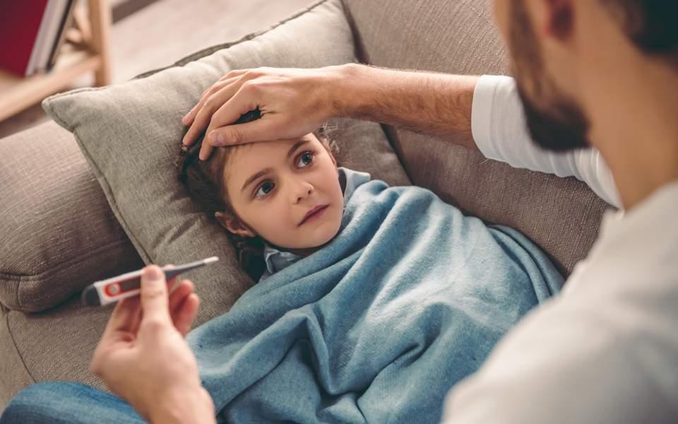 Η παιδική θνησιμότητα οφείλεται σε πνευμονία και γρίπη