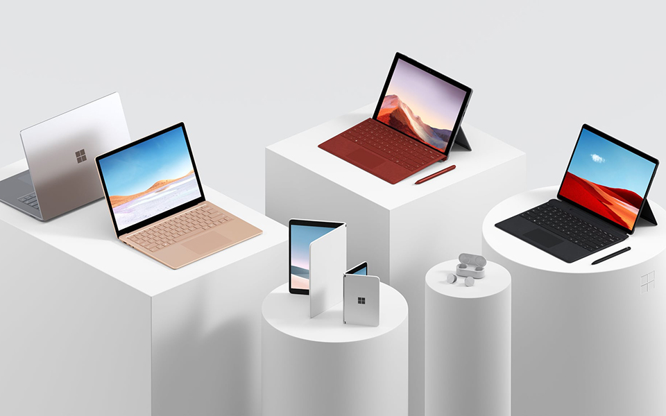 Microsoft: συσκευές με δύο οθόνες στον ορίζοντα
