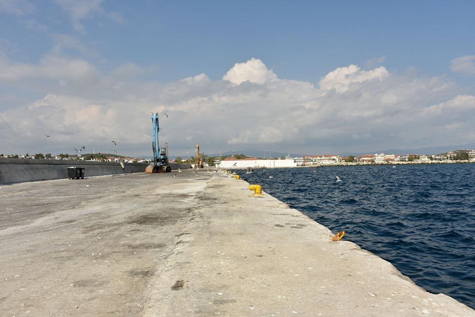 Μ. Καρράς: Ζητάει τη χρηματοδότηση των έργων στο λιμάνι των Μουδανιών