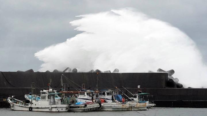 Το Τόκιο ετοιμάζεται για τον τυφώνα Χαγκίμπις