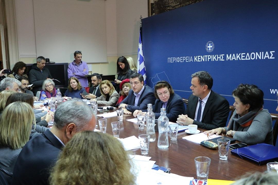 Έργα ανάδειξης της πολιτιστικής κληρονομιάς της Κεντρικής Μακεδονίας