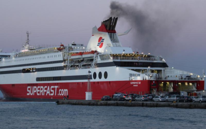Περιπέτεια εν πλω για τους 173 επιβάτες του πλοίου Superfast XI
