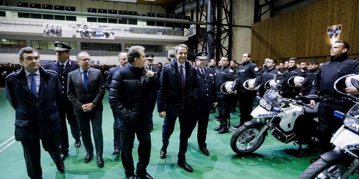 Στην παρουσίαση της νέας ομάδας ΔΙΑΣ ο Μητσοτάκης -«Η αστυνομία στον δρόμο, όχι στα γραφεία»