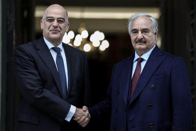 Ν. Δένδιας: Η Ελλάδα είναι έτοιμη να βοηθήσει την επόμενη ημέρα στη Λιβύη