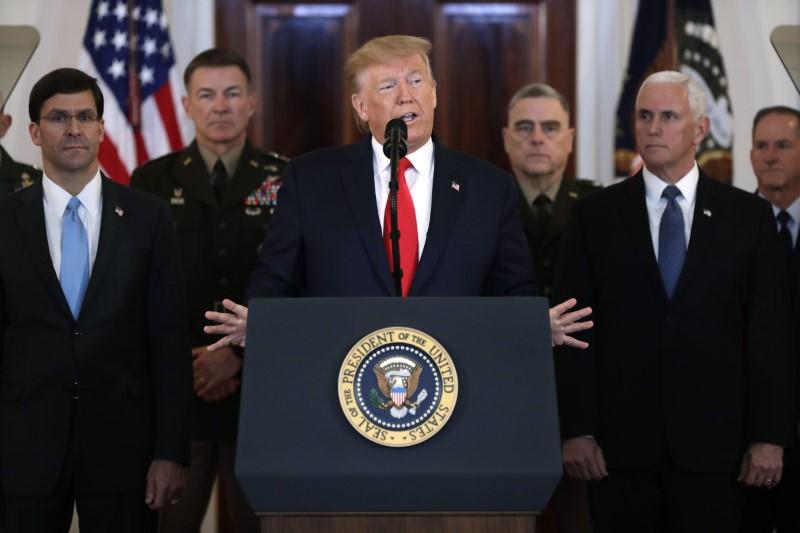 Τραμπ: Δεν υπήρξαν θύματα από την επίθεση του Ιράν – Σκοτώσαμε τον Νο1 τρομοκράτη