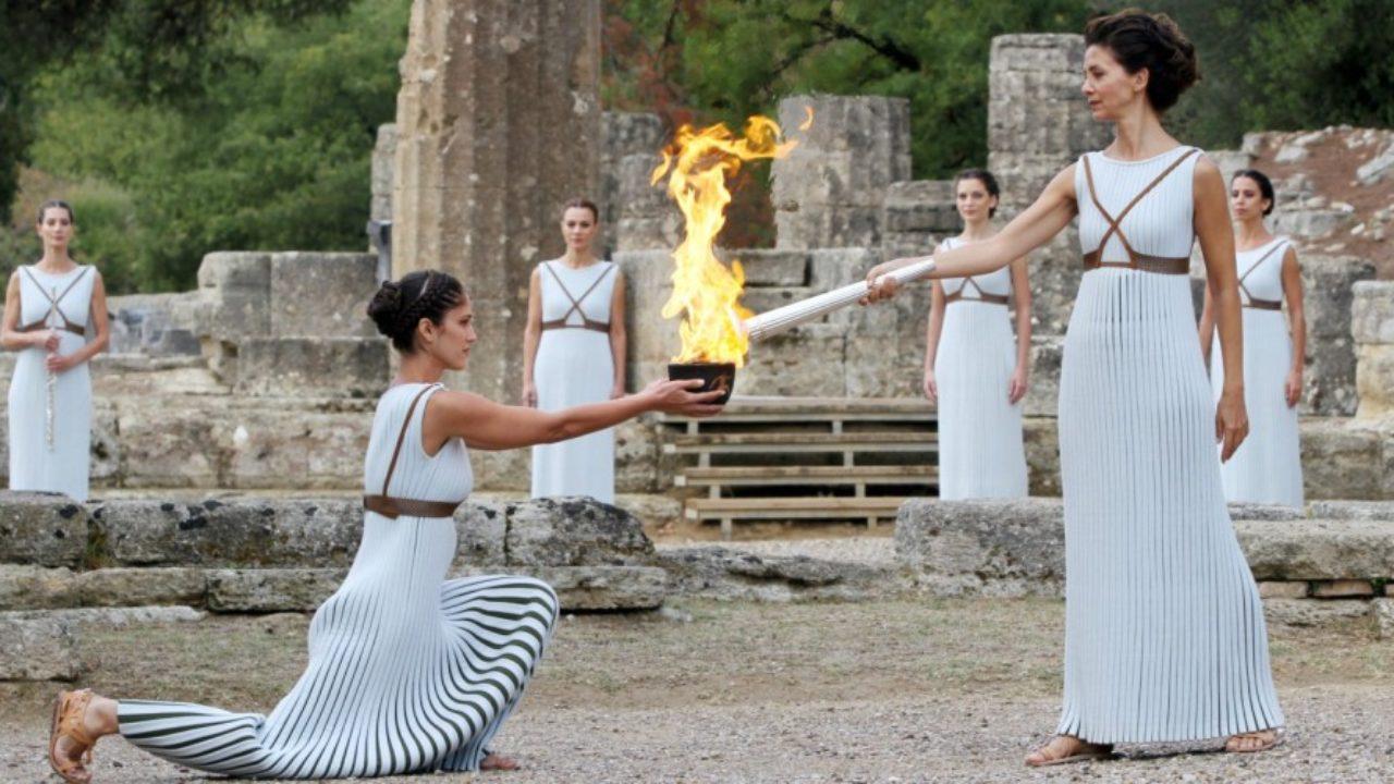 Χωρίς παιδιά η αφή της Ολυμπιακής φλόγας
