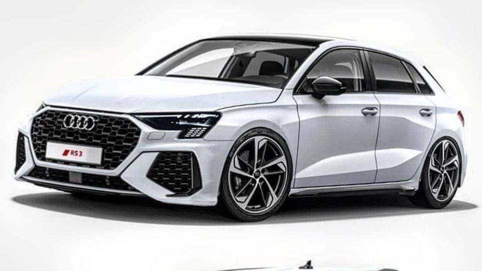 Το νέο Audi RS3 θα θυμίζει το RS6!