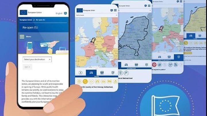 Re-open EU: Η νέα πλατφόρμα της Κομισιόν για ασφαλή ταξίδια