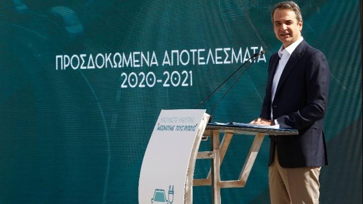 Κυρ.Μητσοτάκης:Επιδοτούμε με 100 εκατ. ευρώ για 18 μήνες την αγορά αυτοκινήτων νέου τύπου
