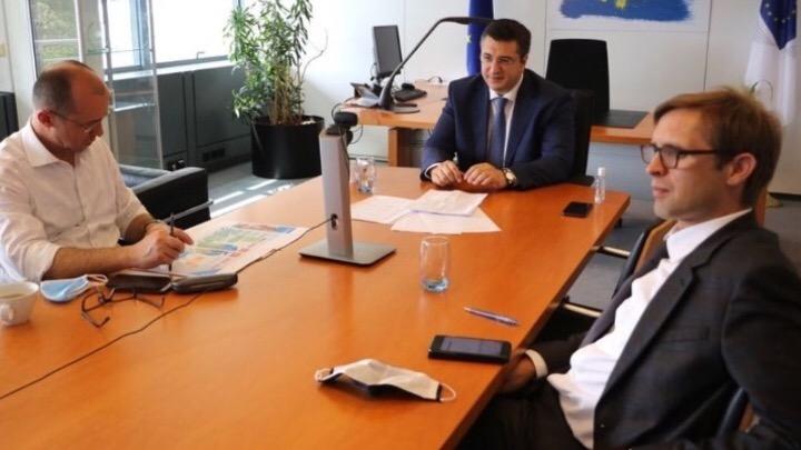 Την ανάγκη για περισσότερη Ευρώπη τόνισε ο Απ. Τζιτζικώστας σε σύσκεψη με τον Επίτροπο Διαχείρισης Κρίσεων