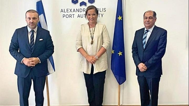 Ντ.Μπακογιάννη: Το λιμάνι της Αλεξανδρούπολης είναι ο μεγαλύτερος αναπτυξιακός μοχλός της Θράκης