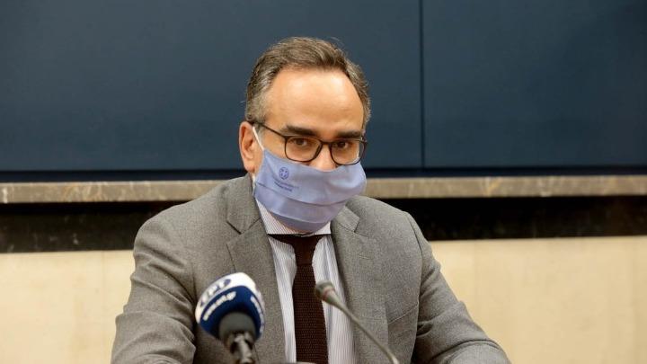Έξι νέες ΜΕΘ για νοσηλεία Covid-19 στο Παπαγεωργίου επιθεώρησε ο Β. Κοντοζαμάνης