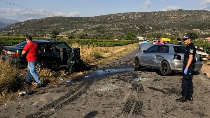 Μείωση 8,9% σημείωσαν τα οδικά τροχαία δυστυχήματα τον Ιούλιο εφέτος