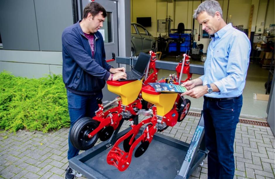Λογισμικό σπαρτικών βάσει συντεταγμένων αναπτύσσει με την Grimme γερμανικό πανεπιστήμιο