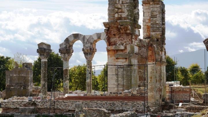 Συνεχίζονται οι εργασίες στον αρχαιολογικό χώρο των Φιλίππων