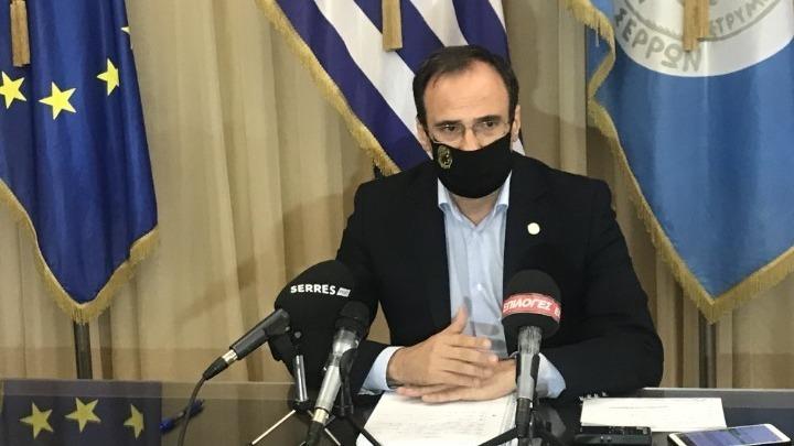 «Ψυχραιμία και πίστη στην επιστημονική κοινότητα» τονίζει ο δήμαρχος Σερρών