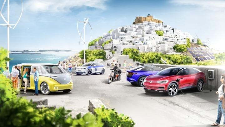 Επένδυση της Volkswagen στην Αστυπάλαια – Κυρ. Μητσοτάκης: Ψήφος εμπιστοσύνης στις αναπτυξιακές προοπτικές της Ελλάδας