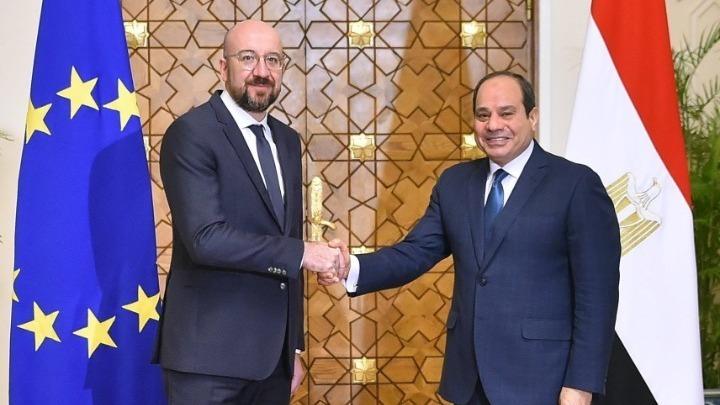 Συνάντηση Αλ Σίσι και Σαρλ Μισέλ στο Κάιρο