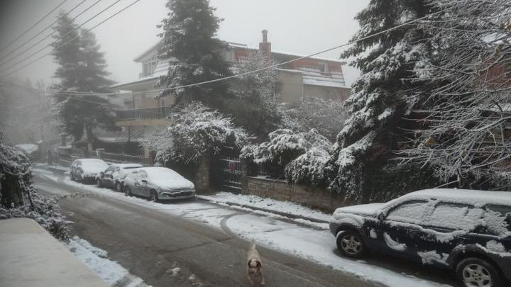 Χιόνια και θερμοκρασίες υπό το μηδέν στη Δ. Μακεδονία