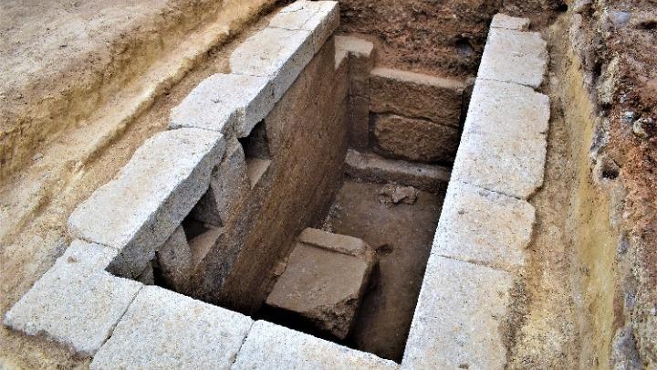 """Τα μυστικά του """"αποκαλύπτει"""" ο ταφικός τύμβος Μεσιάς στη χώρα της αρχαίας Ευρωπού στο Κιλκίς"""