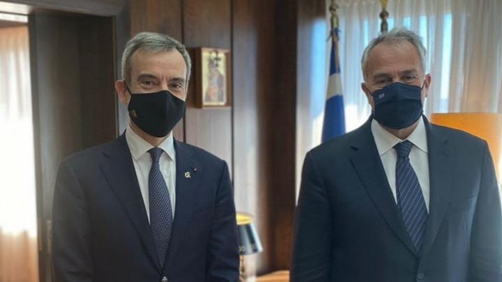 Με Μ. Βορίδη και Κ. Σκρέκα συναντήθηκε στην Αθήνα ο Κ. Ζέρβας