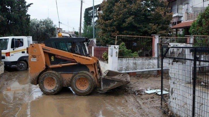 Κοζάνη: Εργασίες για την αποκατάσταση των ζημιών από τις πλημμύρες